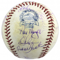 "1986 Mets Team-Signed OML Game-Used Baseball by (26) with Darryl Strawberry, Gary Carter, Mookie Wilson, George Foster, Dwight ""Doc"" Gooden (MLB Hologram & Fanatics Hologram) at PristineAuction.com"