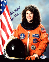 """Susan Helms Signed 8x10 Photo Inscribed """"Aim High"""" (Beckett COA) at PristineAuction.com"""