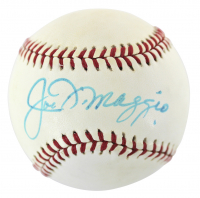 Joe DiMaggio Signed OL Baseball (JSA LOA) at PristineAuction.com