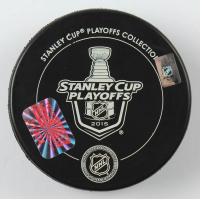 Duncan Keith Signed 2015 Stanley Cup Logo Hockey Puck (YSMS Hologram) at PristineAuction.com