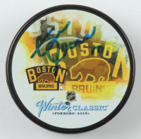 Zdeno Chara Signed 2016 Winter Classic Logo Hockey Puck (YSMS COA) at PristineAuction.com