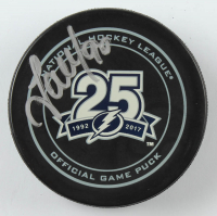 Vladislav Namestnikov Signed Lightning Logo Hockey Puck (YSMS COA) at PristineAuction.com