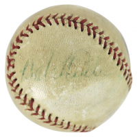 Babe Ruth Signed Baseball (PSA LOA) at PristineAuction.com
