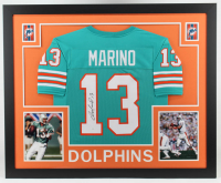 Dan Marino Signed 35x43 Custom Framed Jersey (JSA COA) (See Description) at PristineAuction.com