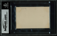 """William Howard Taft Signed 2.75x4.15 White House Card Inscribed """"With Compliments and Best Wishes"""" (BGS Encapsulated) at PristineAuction.com"""