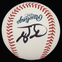 Tim Tebow Signed OML Baseball (JSA COA) at PristineAuction.com