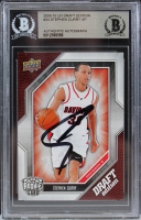 Stephen Curry Signed 2009-10 Upper Deck Draft Edition #34 SP RC (BGS Encapsulated) at PristineAuction.com