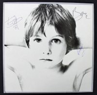 "Bono, The Edge, & Larry Mullen Signed ""U2"" Vinyl Record Album Cover (PSA LOA) at PristineAuction.com"