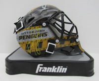 Matt Murray Signed Penguins Mini Goalie Mask (Fanatics Hologram) at PristineAuction.com
