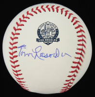 Tommy Lasorda Signed Dodgers 60th Anniversary OML Baseball (JSA COA) at PristineAuction.com