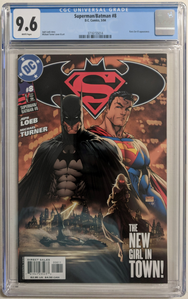 "2004 ""Superman / Batman"" Issue #8 DC Comic Book (CGC 9.6) at PristineAuction.com"