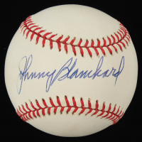 Johnny Blanchard Signed OAL Baseball (PSA COA) at PristineAuction.com