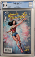 "2015 ""Wonder Woman '77"" Issue #1 DC Comic Book (CGC 8.5) at PristineAuction.com"
