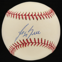 George Bell Signed OML Baseball (PSA COA) at PristineAuction.com