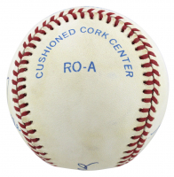 """""""Triple Crown Winners"""" OAL Baseball Signed by (5) with Mickey Mantle, Ted Williams, Carl Yastrzemski, Miguel Cabrera & Frank Robinson (Beckett LOA) at PristineAuction.com"""