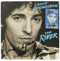 "Bruce Springsteen Signed ""The River"" Vinyl Record Album Inscribed ""Thanks For The Pizza"" (Beckett LOA) at PristineAuction.com"