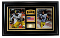Alejandro Villanueva Signed Steelers 16x27 Custom Framed Photo Display (JSA COA) at PristineAuction.com