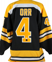 "Bobby Orr Signed LE Bruins Jersey Inscribed ""3x MVP"" (Orr COA & PSA COA) at PristineAuction.com"