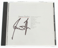 "James Taylor Signed ""Greatest Hits"" CD Album Cover (JSA COA) at PristineAuction.com"