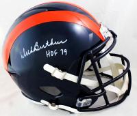 "Dick Butkus Signed Bears Throwback Full-Size Speed Helmet Inscribed ""HOF 79"" (JSA COA) at PristineAuction.com"