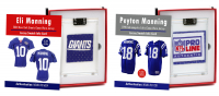 PEYTON & ELI! MANNING BROTHERS MYSTERY ROOKIE YEAR GAME JERSEY SWATCH BOXES! at PristineAuction.com