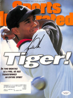 Tiger Woods Signed 1996 Sports Illustrated Magazine (JSA LOA) at PristineAuction.com