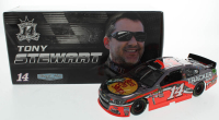 Tony Stewart LE #14 Bass Pro Shops 2016 SS Color Chrome 1:24 Diecast Car at PristineAuction.com