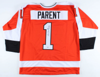 "Bernie Parent Signed Jersey Inscribed ""HOF 84"" (Beckett COA) at PristineAuction.com"