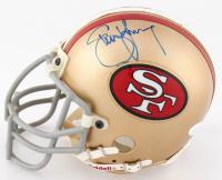 Steve Young Signed 49ers Mini Helmet (JSA COA) at PristineAuction.com