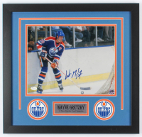 Wayne Gretzky Signed Oilers 20x21 Custom Framed Photo Display (JSA COA) at PristineAuction.com