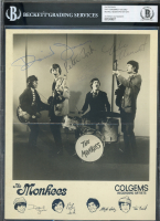 The Monkees 8x10 Photo Band-Signed by (4) with Davy Jones, Micky Dolenz, Peter Tork & Michael Nesmith (BGS Encapsulated) at PristineAuction.com