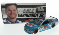 Dale Earnhardt Jr. Signed LE #88 Mountain Dew S-A 2017 SS 1:24 Scale Die Cast Car (JR Motorsports Hologram) at PristineAuction.com