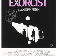 "Linda Blair Signed ""The Exorcist"" 11x17 Movie Poster (Legends COA) at PristineAuction.com"