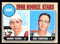 Johnny Bench 1968 Topps #247 Rookie Stars RC at PristineAuction.com
