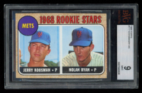 1968 Topps #177 Rookie Stars/Jerry Koosman RC / Nolan Ryan RC (BGS 9) at PristineAuction.com