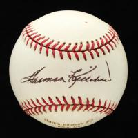 Harmon Killebrew Signed OAL Career Stat Engraved Baseball (JSA COA) at PristineAuction.com