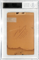 """Charles Tiffany Signed 3.75x5.5 Photo Inscribed """"My Eightieth Birthday"""" (BAS Encapsulated) at PristineAuction.com"""