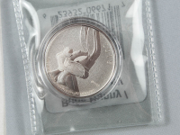 2015 Canada Bugs Bunny / Warner Bros Entertainment 7.96g Silver $20 Coin with Packaging at PristineAuction.com