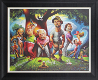 "Chevy Chase Signed LE ""Caddyshack"" 22x28 Custom Framed Canvas Display Inscribed ""Caddyshack"" & ""Ty Webb"" (Beckett LOA) at PristineAuction.com"
