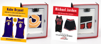 KOBE BRYANT & MICHAEL JORDAN GAME WORN JERSEY MYSTERY SWATCH BOXES! at PristineAuction.com