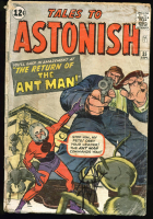 "Stan Lee Signed 1962 ""Tales to Astonish"" Issue #35 Marvel Comic Book (PSA LOA) at PristineAuction.com"