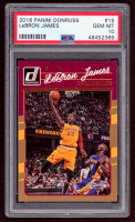 LeBron James 2016-17 Donruss #15 (PSA 10) at PristineAuction.com