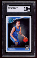 Luka Doncic 2018-19 Donruss Optic #177 RR RC (SGC 10) at PristineAuction.com