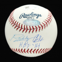 "Bobby Cox Signed OML Hall of Fame Baseball Inscribed ""H.O.F. '14"" (Steiner COA & MLB Hologram) at PristineAuction.com"