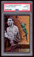 Jayson Tatum 2017-18 Panini Essentials #129 RC (PSA 10) at PristineAuction.com