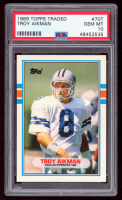 Troy Aikman 1989 Topps Traded #70T RC (PSA 10) at PristineAuction.com