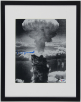 Fred Zimmerli Signed 11.75x14.75 Custom Framed Photo Display (PSA COA) at PristineAuction.com