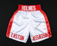 Larry Holmes Signed Boxing Trunks (PSA COA) at PristineAuction.com