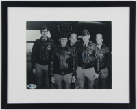 Richard E. Cole Signed 11.75x14.75 Custom Framed Photo Display (Beckett COA) at PristineAuction.com