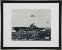 Richard E. Cole Signed 11.75x14.75 Custom Framed Photo Display (Beckett COA) at PristineAuction.com